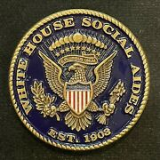 White House Social Aides A Tradition Of Service Rare Challenge Coin