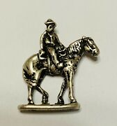 Vintage Will Rogers Sterling Charm Will Rogers And Soap Suds 3-d Sterling Charm