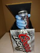 Vintage 2004 Coors Light Beer Zombie Hand 12 Pack Case Motion Signrareworking