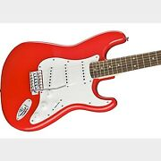 Squier By Fender Affinity Stratocaster Laurel Race Red Squier Entry Strat