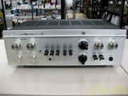 Luxman Lx38 Tube Stereo Integrated Amplifier Silver From Japan