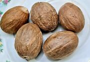 100 Pure Natural Grade A Quality Whole Dried Nutmeg, Organic Herbs And Spices
