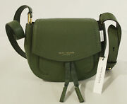 Marc Jacobs Womenand039s Leather Saddle Bag Kb8 Cactus Green H102l01sp21