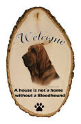 Outdoor Welcome Sign Tb - Bloodhound 51073