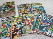 Huge Collection Of Silver And Bronze Age Captain America Comics 60's And 70's Marvel