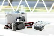 Canon Eos 5d Mark Iv Mk 4 Very Low Shutter Usa Free Shipping