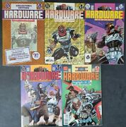 Hardware Lot Of 5 Issues 1994 Dc Milestone Comics 1st Appearance 1 Polybagged