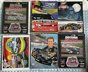 Huge Collection Vintage Nascar Programs And Media Guide Press Kits Earnhardt Petty