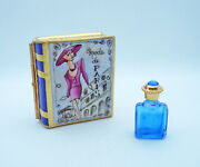 New French Limoges Trinket Box Amazing Mode De Paris Book With Perfume Bottle