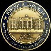 Official Potus Joseph R Biden 46th President Of The United States Challenge Coin
