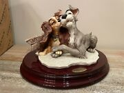 Giuseppe Armani Disney Lady And The Tramp True Love 1258c Convention Box Signed