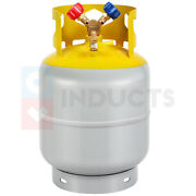 30lb Refrigerant Recovery Storage Tank With Double Valve R410a, R134a, R22
