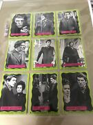 1969 Dark Shadows Green Complete Gum Card Set Excellent Plus Free Usa Shipping