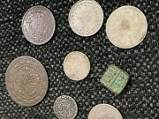 Turkey, Ottoman Empire - Islamic Silver And Copper Coins, 1600s, Lot Of 8 Coins