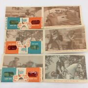 Post Sugar Crisp Cereal Roy Rogers And Trigger 3d Viewers And Cards Series 7, 8, 11