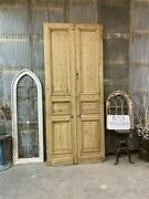 Thick Molding Antique French Double Doors European Doors Tall Pair B33