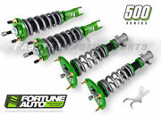 Fortune Auto Coilovers 500 Series 8k F 6k R For 99-02 G20 Us/jdm P11 Fa500-g20jp