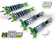Fortune Auto Coilovers 500 Swift Series 12k F 6k R For 88-91 Civic 4 Ef Fa500-ef