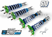 Fortune Auto Coilovers 510 Swift Series 10k F 8k R For 03-08 350z Fa510cfd-z33t-