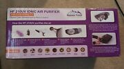 Heaven Fresh Uv Air Purifier And Ionizer With Fan For Home Allergies Dust Pollen