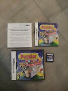 Puzzler World 2 Nintendo Ds, 2011 Complete Cib Rare Ds Game Only One On Ebay