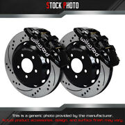 Wilwood Street Drilled And Slotted Rotor Aero6 Caliper F Brake For 08 G8