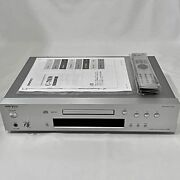 Onkyo C-7030 Cd Player Vlsc Pure Sound Silver Ac100v Used Vg W/tracking