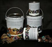 Michigan Gems' Discovery Bucket / Miner's Minerals / Isle Royale Greenstone