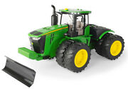 1 By 16 Scale John Deere Big Farm 9620r Tractor With Front Blade