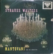 Mantovani And His Or - Strauss Waltzes - Vinyl Record.. - D5783d