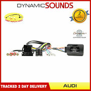 Ctsad003 Stalk Steering Control Adaptor Lead Can-bus With Iso For Audi A3 A4 Tt