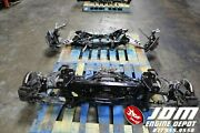 92 02 Mazda Rx7 1.3l Front And Rear Subframes Jdm 13b Free Shipping
