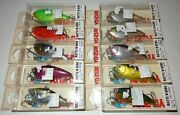 Lot Of 10 New And Different Yo-zuri Rattland039n Vibe Sinking 2-1/2 Fishing Lures F307