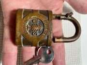 Antique Yale Lock Us Forest Service Padlock Andnbspusfs With Key
