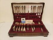 Eternally Yours 1941 By 1847 Rogers Bros Silverplate Flatware Set 77 Pc