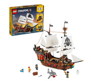 Lego Creator 3in1 Pirate Ship 31109 Toy Building Set For Kids Age