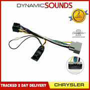 Cthue-ch1 Car Stereo Wiring Iso Adaptor With Ignition Generator For Chrysler