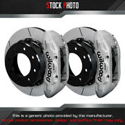 Wilwood Gt Slotted Rotor Tactical Xtreme Caliper R Brake For 11-15 Silverado