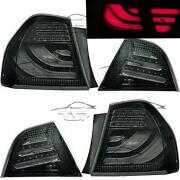 Rear Led Tail Lights Bar Dark For Bmw E90 09-12 Series 3 Saloon Lamp Fanale