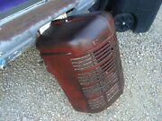 Vintage Farmall H Ih Tractor Very Nice Original Front Nose Cone Grill Lot 2