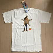 Vintage 90and039s Disney Toy Story Woody Unused With Tag Tee T Shirt Size M All Sport