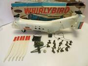 Monkey Division Whirlybird Helicopter Remco 1964 Works