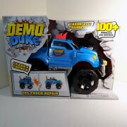 Demo Duke Interactive Crash And Crunch Talking Toy Monster Truck +100 Phrases New