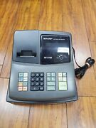 Sharp Xe-a106 - Electronic Cash Register, No Keys - Tested Fast Shipping