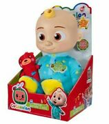 Cocomelon Musical Bedtime 10 Inch Jj Doll Plush Toy New