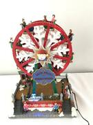 Jack Frost Ferris Wheel Christmas Village Display Holiday Lighted Animated