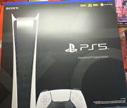 Sony Playstation 5 Ps5 Digitalandnbspedition Console Sealed In Hand - Ships Fast 🚚💨