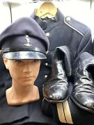 Post Ww2 Full Uniform Royal Corps Of Transport 1955 Pattern Tunic Trousers Boots