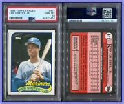 Psa 10 1989 Topps Traded 41t Ken Griffey Jr. Rc Seattle Mariners A3021