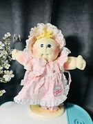 """Cabbage Patch Soft Sculpture,signed By Xavier Roberts """"baby Bebop """" 15 """" Preemie"""